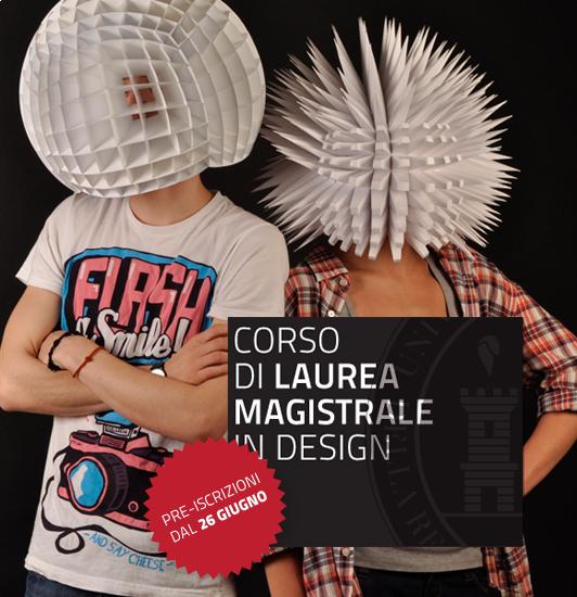 San marino nuova laurea magistrale in design for Laurea magistrale design