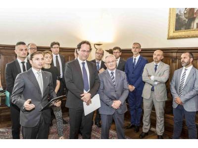 San Marino. Colombini Group in udienza dalla Ecc.ma Reggenza ...