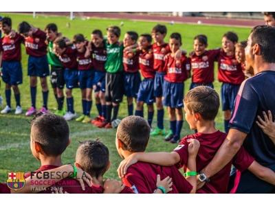 Allenamento calcio FC Barcelona 2016