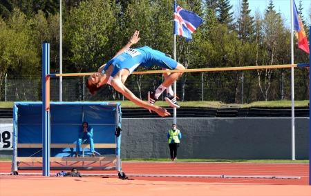 Eugenio rossi in olanda per il salto in alto ai campionati europei