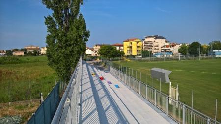 Campo di calcio rivazzurra rimini