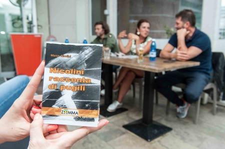 """La storia del pugilato in pillole, in un libro intitolato """"nicolini racconta di pugili"""" del sammarinese marco nicolini."""