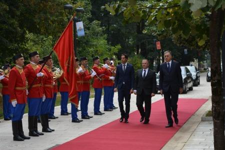 Visita di stato dei capitani reggenti di san marino in montenegro