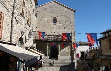 Verso la chiusura la chiesa di san francesco a san marino. petizione contro la chiusura.