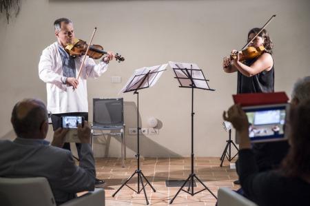 Successo a villa manzoni per la string concert academy